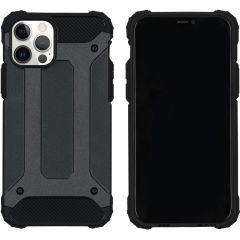iMoshion Rugged Xtreme Case iPhone 12 (Pro) - Schwarz