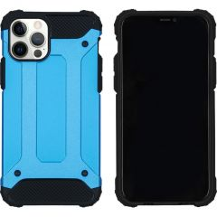 iMoshion Rugged Xtreme Case iPhone 12 (Pro) - Hellblau