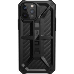 UAG Monarch Case für das iPhone 12 (Pro) - Carbon Fiber Black