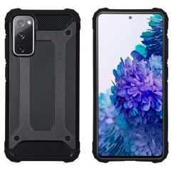 iMoshion Rugged Xtreme Case Samsung Galaxy S20 FE - Schwarz
