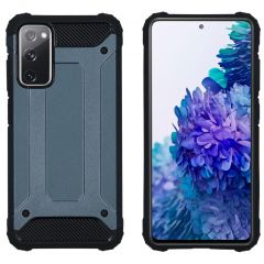 iMoshion Rugged Xtreme Case Samsung Galaxy S20 FE - Dunkelblau