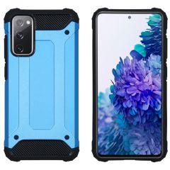 iMoshion Rugged Xtreme Case Samsung Galaxy S20 FE - Hellblau