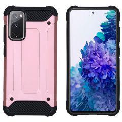 iMoshion Rugged Xtreme Case Samsung Galaxy S20 FE - Roségold
