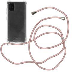 iMoshion Backcover mit Band für das Samsung Galaxy A51 - Roségold