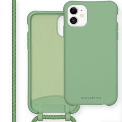 iMoshion Color Backcover mit abtrennbarem Band iPhone 11 - Grün