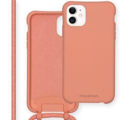iMoshion Color Backcover mit abtrennbarem Band iPhone 11 - Peach