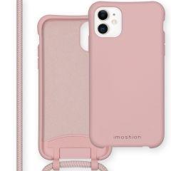 iMoshion Color Backcover mit abtrennbarem Band iPhone 11 - Rosa