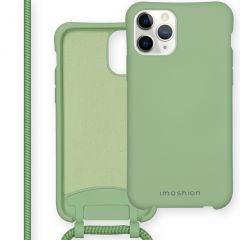 iMoshion Color Backcover mit abtrennbarem Band iPhone 11 Pro - Grün