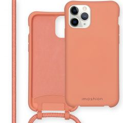 iMoshion Color Backcover mit abtrennbarem Band iPhone 11 Pro - Peach