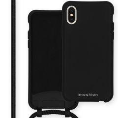iMoshion Color Backcover mit abtrennbarem Band iPhone Xs / X -Schwarz