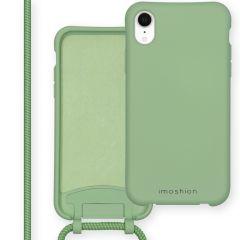 iMoshion Color Backcover mit abtrennbarem Band iPhone Xr - Grün