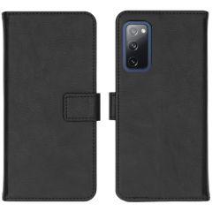 iMoshion Luxuriöse Buchtyp-Hülle Samsung Galaxy S20 FE - Schwarz