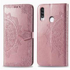 iMoshion Mandala Booktype-Hülle Samsung Galaxy A20s - Roségold
