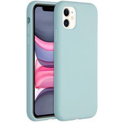 Accezz Liquid Silikoncase für das iPhone 11 - Sky Blue