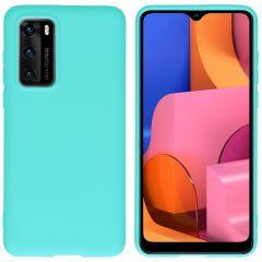 iMoshion Color TPU Hülle für das Huawei P40 - Mintgrün