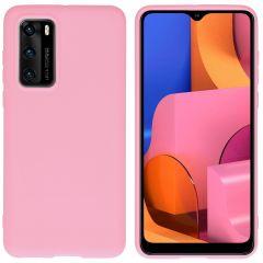 iMoshion Color TPU Hülle für das Huawei P40 - Rosa