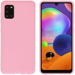 iMoshion Color TPU Hülle für das Samsung Galaxy A31 - Rosa