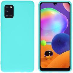 iMoshion Color TPU Hülle für das Samsung Galaxy A31 - Mintgrün