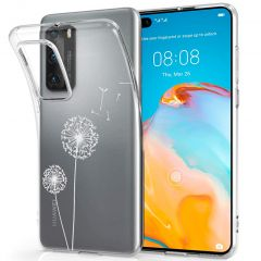 iMoshion Design Hülle Huawei P40 - Pusteblume - Weiß