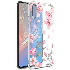 iMoshion Design Hülle Huawei P Smart Pro / Y9s - Blume - Rosa
