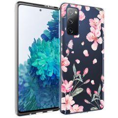 iMoshion Design Hülle Samsung Galaxy S20 FE - Blume - Rosa