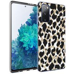 iMoshion Design Hülle Galaxy S20 FE - Leopard - Gold / Schwarz