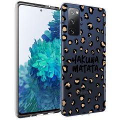 iMoshion Design Hülle Galaxy S20 FE - Leopard - Braun / Schwarz
