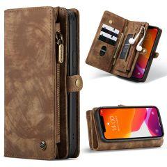 CaseMe Luxuriöse 2-in-1-Portemonnaie-Hülle Leder iPhone 12 (Pro)