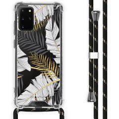 iMoshion Design Hülle mit Band Samsung Galaxy S20 Plus - Blätter