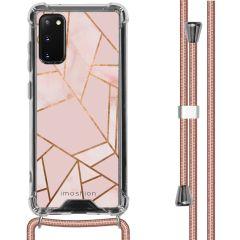 iMoshion Design Hülle mit Band Samsung Galaxy S20 - Grafik-Kupfer