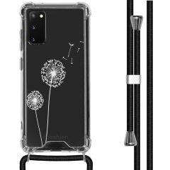 iMoshion Design Hülle mit Band Samsung Galaxy S20 - Pusteblume - Weiß