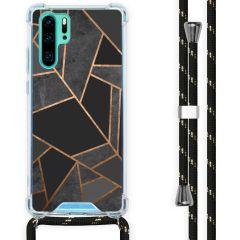 iMoshion Design Hülle mit Band Huawei P30 Pro - Grafik-Kupfer