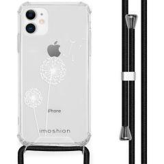 iMoshion Design Hülle mit Band iPhone 11 - Pusteblume - Weiß