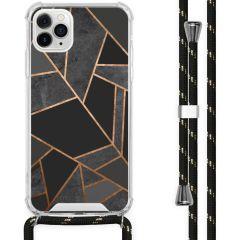 iMoshion Design Hülle mit Band iPhone 11 Pro Max - Grafik-Kupfer