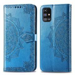 iMoshion Mandala Booktype-Hülle Samsung Galaxy M31s - Türkis