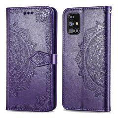 iMoshion Mandala Booktype-Hülle Samsung Galaxy M31s - Violett