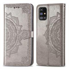 iMoshion Mandala Booktype-Hülle Samsung Galaxy M31s - Grau