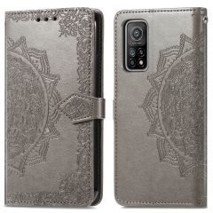 iMoshion Mandala Booktype-Hülle Xiaomi Mi 10T (Pro) - Grau