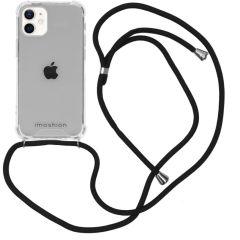 iMoshion Backcover mit Band iPhone 12 Mini - Schwarz