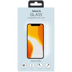 Selencia Displayschutz aus gehärtetem Glas iPhone 12 Mini