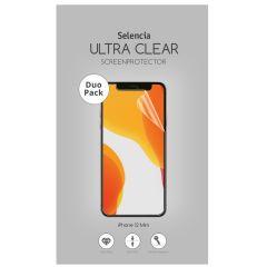 Selencia Duo Pack Screenprotector für das iPhone 12 Mini