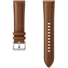 Samsung Leather Band Braun Galaxy Watch Active 2 / Watch 3 41mm
