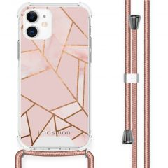 iMoshion Design Hülle mit Band iPhone 12 Mini - Grafik-Kupfer