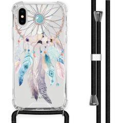 iMoshion Design Hülle mit Band iPhone X / Xs - Traumfänger