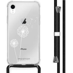 iMoshion Design Hülle mit Band iPhone Xr - Pusteblume - Weiß