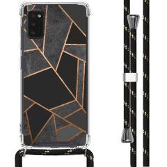 iMoshion Design Hülle mit Band Samsung Galaxy A41 - Grafik-Kupfer