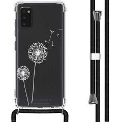 iMoshion Design Hülle mit Band Samsung Galaxy A41 - Pusteblume - Weiß