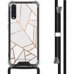 iMoshion Design Hülle mit Band Samsung Galaxy A50 - Grafik-Kupfer