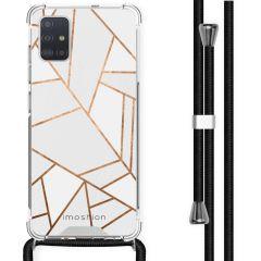 iMoshion Design Hülle mit Band Samsung Galaxy A51 - Grafik-Kupfer