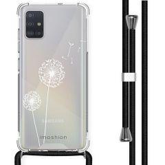 iMoshion Design Hülle mit Band Samsung Galaxy A51 - Pusteblume